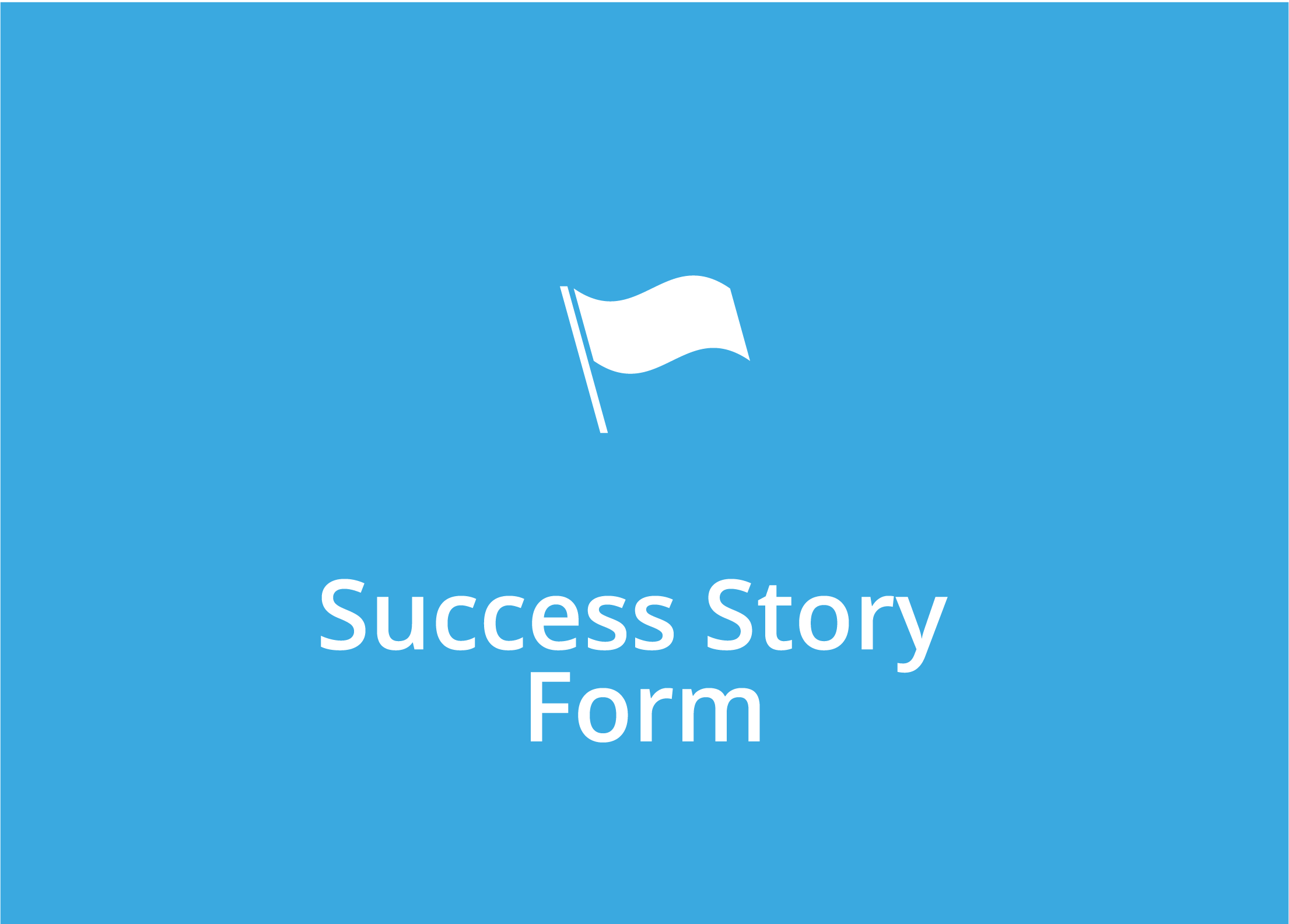Success Story Form